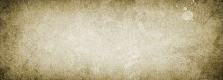 Old stained vintage background paper texture with copy space