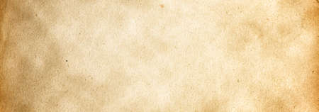 Brown grunge banner background with a vintage paper texture and with a copy of the space