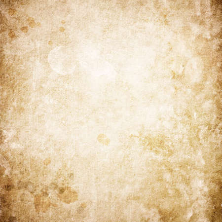 Texture of old brown paper with spots with space for text