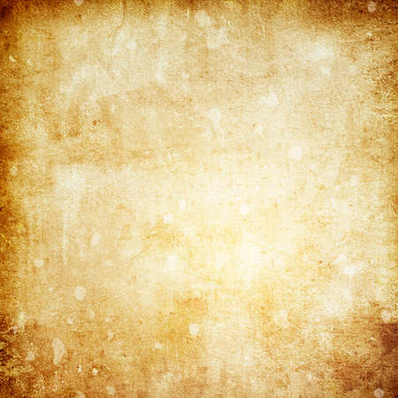 Old brown paper grunge background with a copy of the space and a place for the text Banque d'images