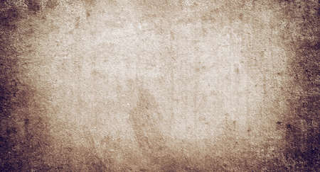 Texture of old vintage brown paper with a space For Text Banque d'images