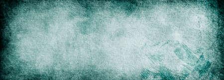 Grunge banner background blue vintage paper textures for design and text Banque d'images