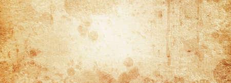 Vintage beige paper texture in spots with a light center Banque d'images