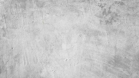 The texture of an old gray concrete wall as a background Banque d'images