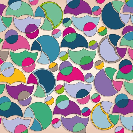 background with colorful shapes