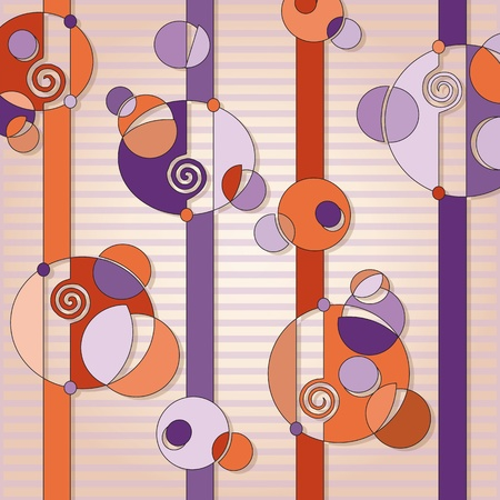 violet and orange abstract background