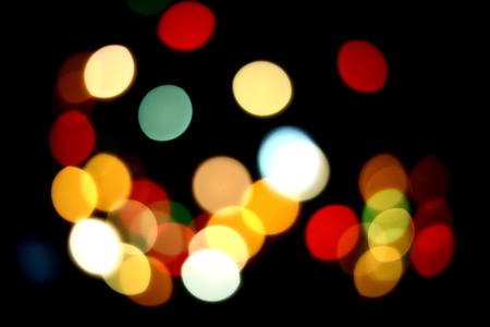 new years eve: Bokeh New Years Eve Stock Photo