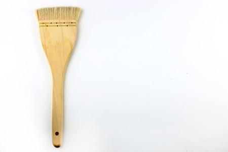 converting: Converting wood watercolor white backdrop.