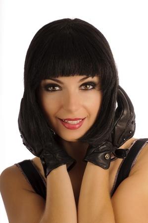 beautiful bangs: 1920s girl, bob hairstyle