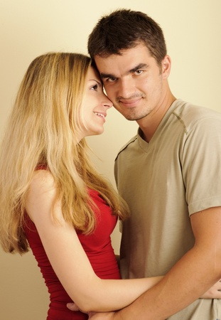 Young couple in love Stock Photo - 10883867
