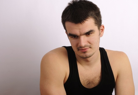 Cute guy Stock Photo