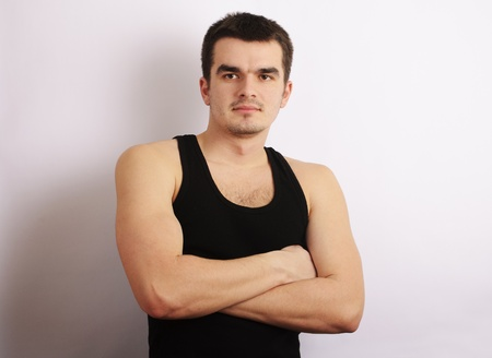 handome: Handome young man Stock Photo