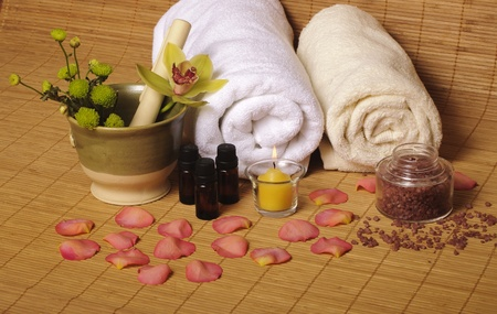 Day spa objects photo
