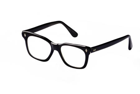 Nerdy eyeglasses, isolated