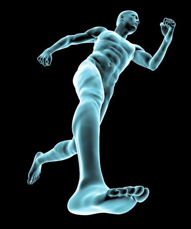 tarsus: Raggi X del corpo e scheletro umano, piedi
