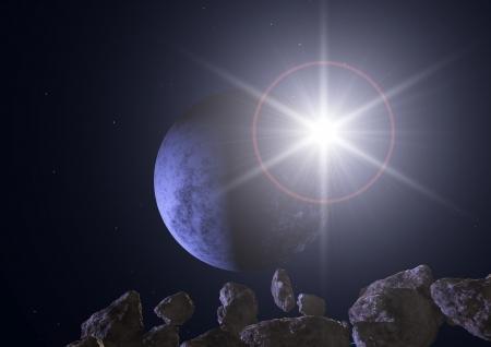 meteorites: Planet Star asteroids meteorites