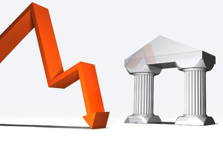 einsturz: M�rkte und Trends, Aktien tauchen und finanziellen Kollaps, fallende Preise