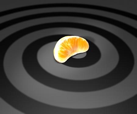 assimilate: Slice of orange