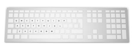 backspace: Computer keyboard key labels close up
