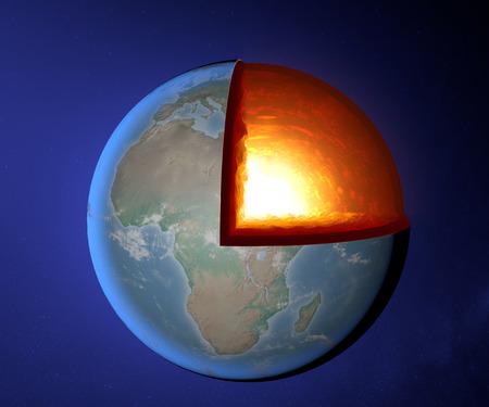geomagnetic: Earth s core, Earth, world, split, geophysics