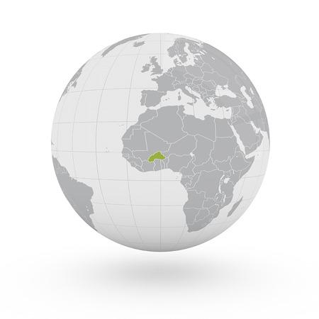 burkina faso: Globe Africa Burkina Faso