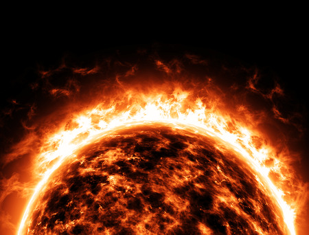 radiative: Sun Star space universe