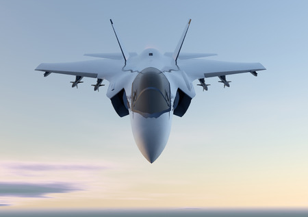3D-Jet F-35 Kämpfer