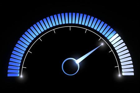 medium: Pressure gauges temperature speed performance Stock Photo