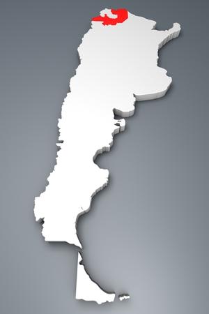 argentina map: Salta Province On Argentina map