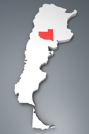 argentina map: La Pampa Province On Argentina map