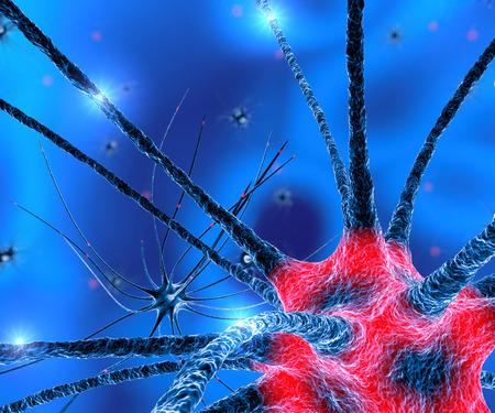 Neurony Synapse funkcje mózgu Zdjęcie Seryjne
