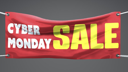 Cyber monday, sales, banner