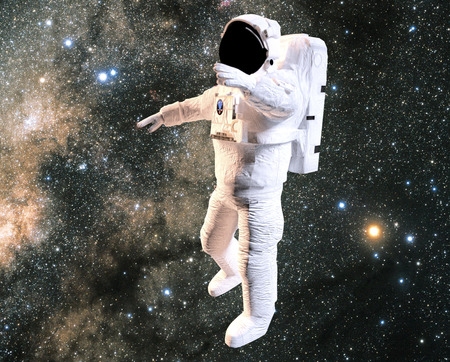 space suit: Astronaut in space, space suit, extra-vehicular activities