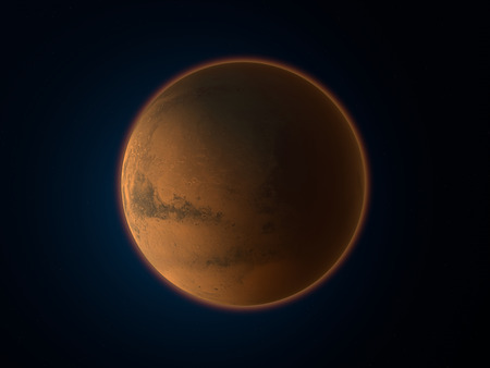 Mars, space, solar system Stock Photo
