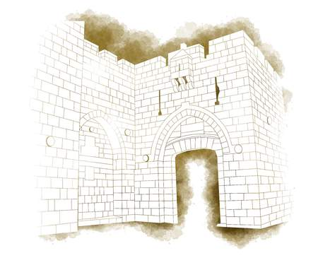 Line Drawing Jerusalem : Drawing the bottom line s m a k