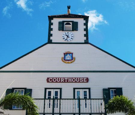 saint martin: Philipsburg courthouse, pineapple, St Martin, Saint Martin