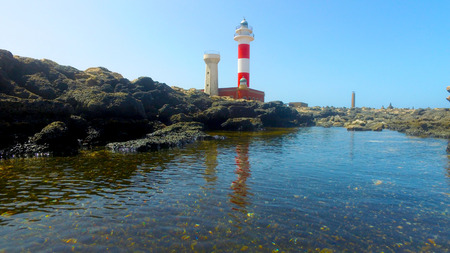 surfers paradise: Fuerteventura, Canary Islands: view of the Toston lighthouse, near the fishing village of El Cotillo, September 3, 2016 (Ultra High Definition, UltraHD, Ultra HD, UHD, 4K, 2160P, 3840x2160)