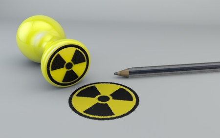 proposed: Nuclear stamp, nuclear war, sign agreement, pen