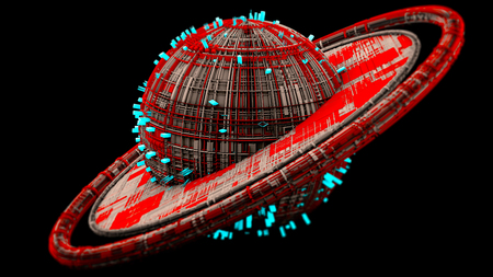 rectangle: Space Station, spaceship, Cities of the Future, Science Fiction, Sci-Fi, Parallel Plates, Urban Centers, Housing Units, Space. Space station