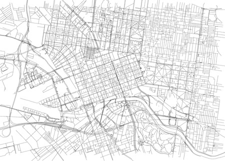 90473665 streets of melbourne city map australia street map