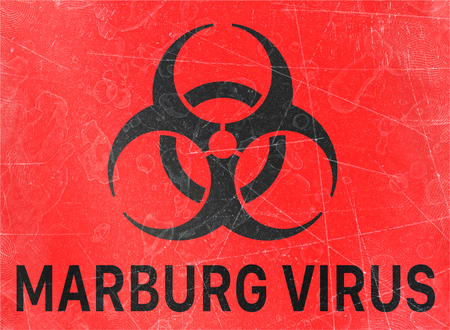 Marburg virus. Signs of biological hazards, biohazards, referring to biological substances that pose a threat to the health of living organisms, primarily that of humans. Viruses and bacteria