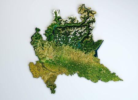 Cartina Dettagliata Lombardia.Foto Cartina Lombardia Immagini E Vettoriali