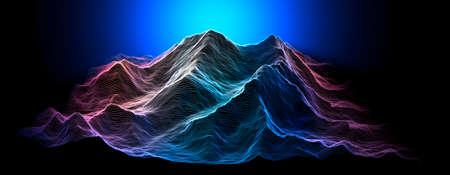 Mount Everest, relief height, mountains. Lhotse, Nuptse.