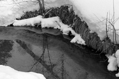 streamlet: creek Stock Photo