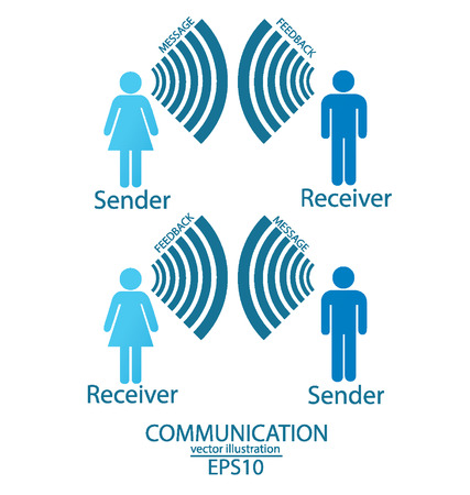 communication concept: communication concept  connection  vector Illustration  Illustration