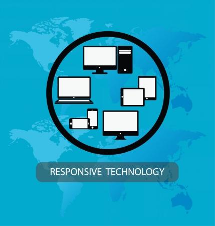 Responsive Web Design  Vector  Vector