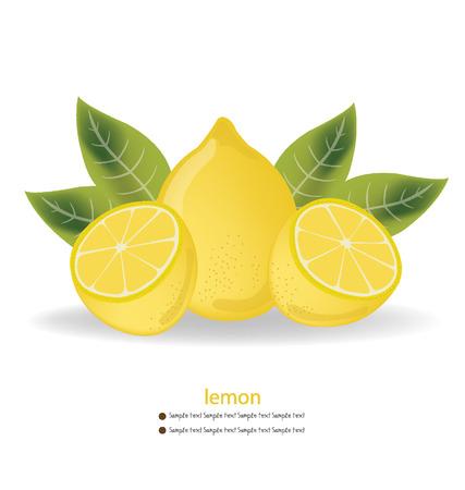 limon: Lemon vector illustration