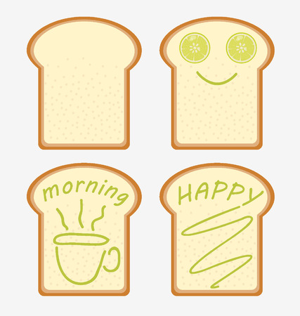 bread vector illustration Vector