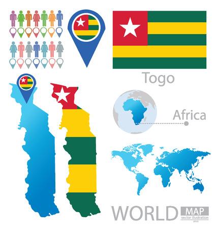 togo: Togo vector Illustration