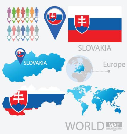 Slovakia vector Illustration Illustration